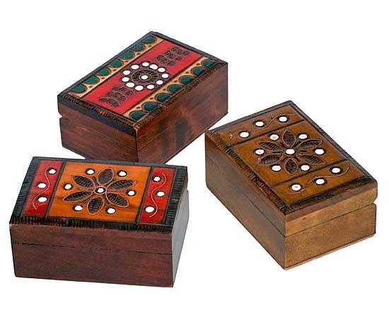 Kasetki drewniane