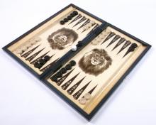 050. Backgammon czarny